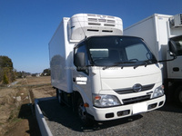 GOOD CONDITION JAPANESE USED HINO DUTRO TRUCK TKG-XZC605M 2013 WITH REFRIGERATOR & FREEZER