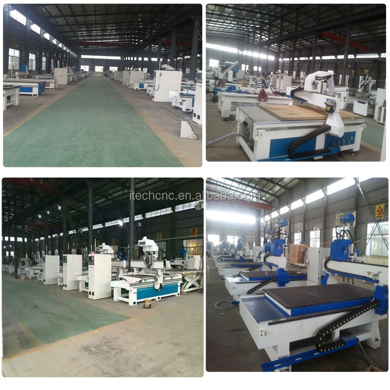 Automatic change tools best price wood furniture making machine