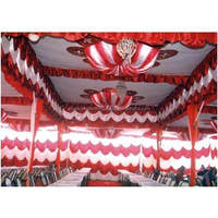 New Designer Polyster Tent Ceilings Draping For Beach Anniversary Party