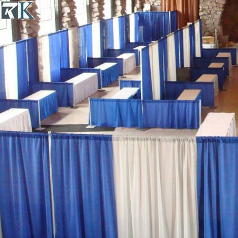 Pipe and Drapes Wedding Tent LED Star Curtain photo booth double deck trade show booth for Stage Wall Backdrop Event