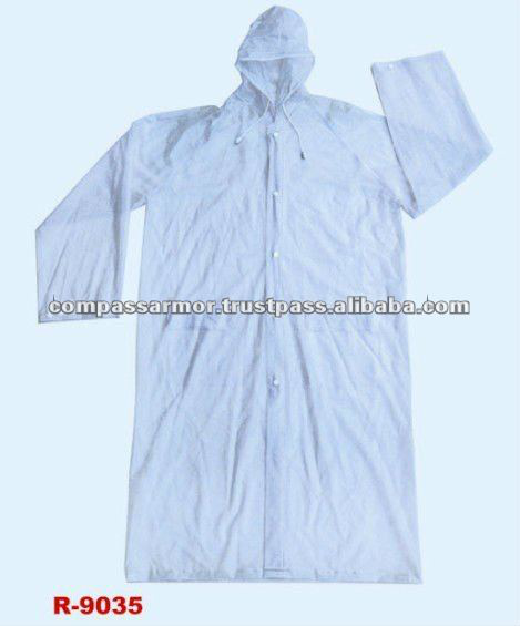 military rainsuit raincoat,police rainsuit- 0.12mmPVC long raincoat