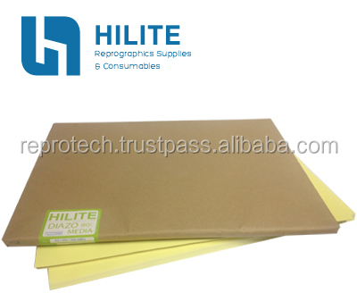 Diazo Paper (Or known as Blueprint Paper/Ammonia Paper/Sensitized Paper) 80gsm