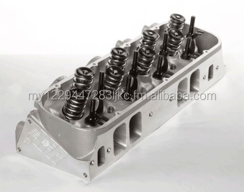 BBC 345cc Magnum Rectangle Port Cylinder Heads Chevy Big Block 572 2110