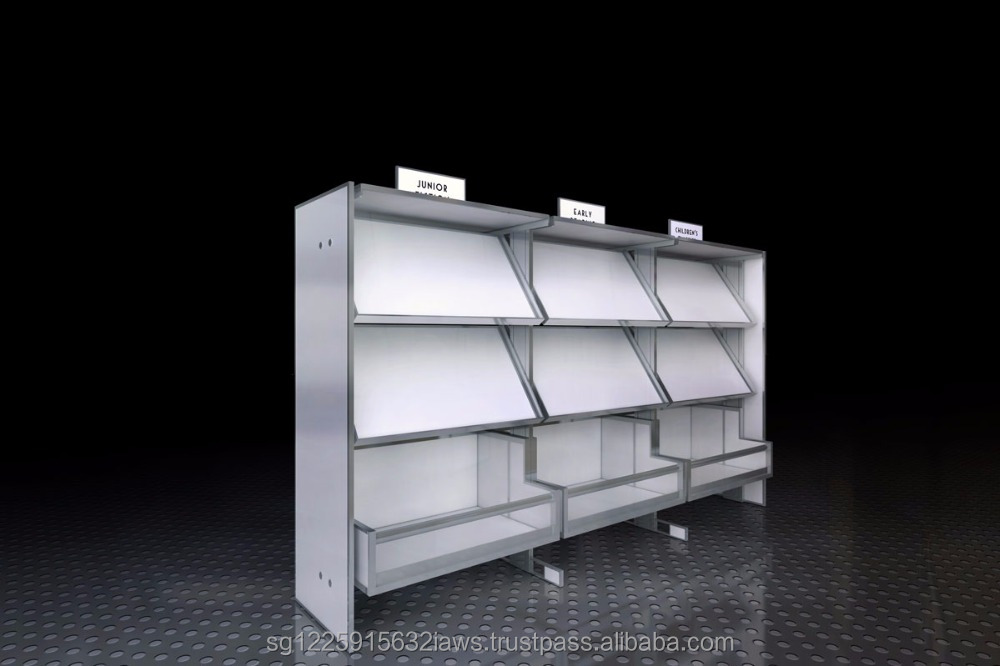 New Design Customize Ximula Library Systems School Furniture Cabinet Library Bookshelf Bookcase