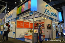 exhibit System Booth for rent