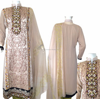0602- Salitex Chiffon 3 piece suit fancy ladies suits ladies salwar suit design