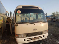 Used Gasoline bus Diesel fuel Toyota bus for sale