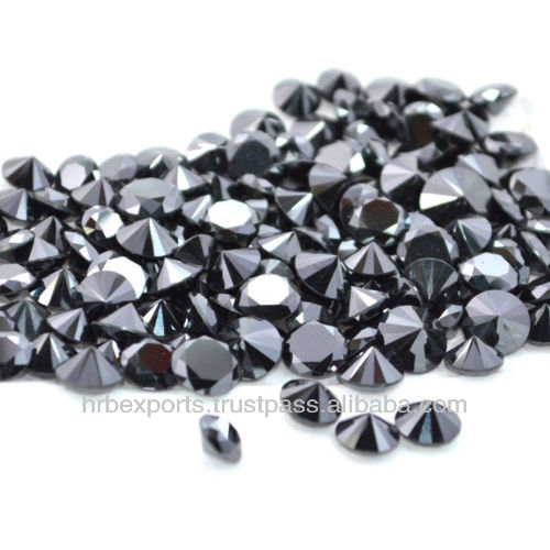 Brilliant Quality Black Moissanite diamond at cheapest price offer from India. Finest Quality wholesale moissanite sale.