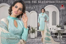 Readymade Partywear Silk Embroidered Salwar Kameez Suit
