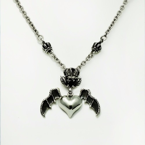 Factory price Skull hand Necklace silver 925 chain