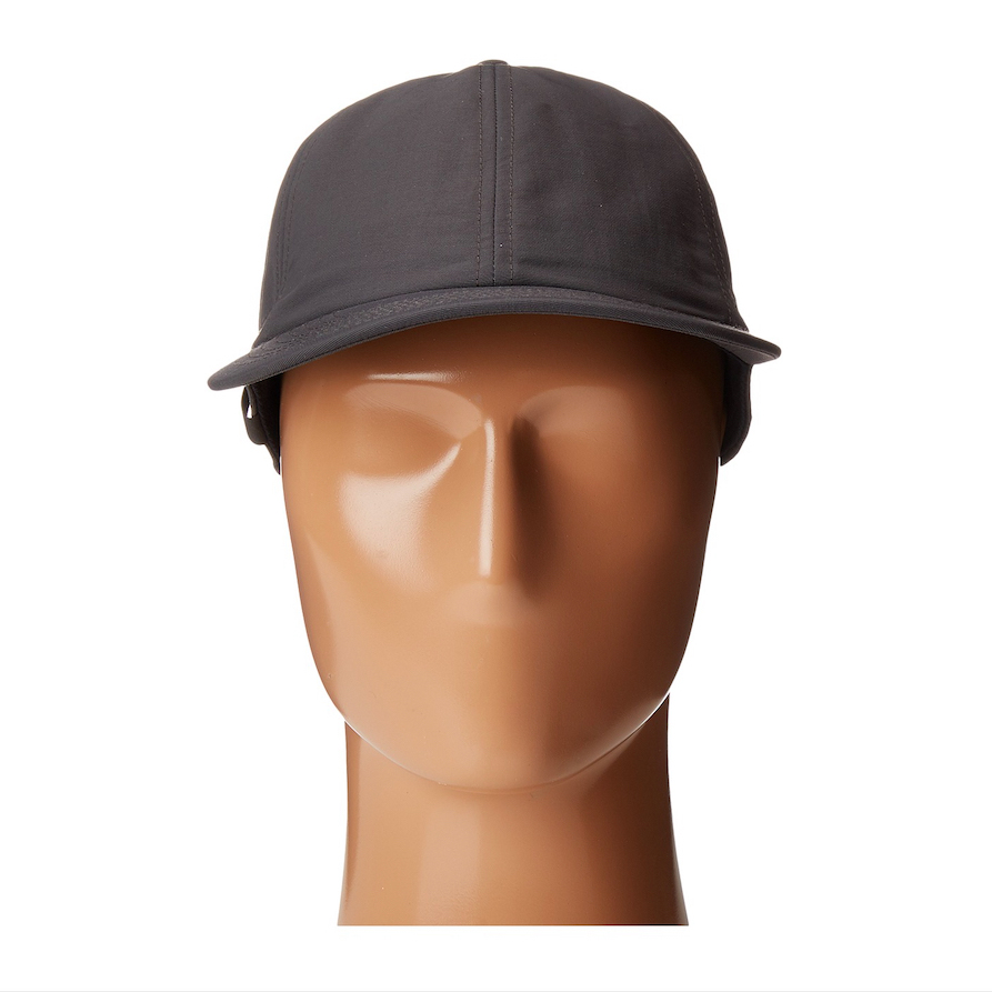 6 panel customized baseball cap with pencil holder strap