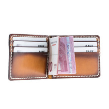 Vintage Style Thin Man Leather Wallet