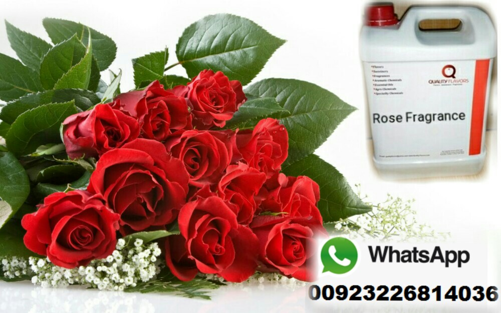 Rose Fragrance For Perfumes