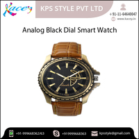 Analog Style Black Dial Smart Watch Available for Men and Boys