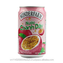 02 Wonderfarm Passion Fruit Juice 320ml x 24 cans