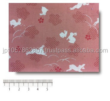 Cloth of Lamination of a design peculiar to Japan