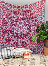 Large Wall Tapestry Mandala Round Mandala Tapestry Indian Mandala Tapestry Bedspread Decor Hippie Wall Hanging Bohemian Hippie