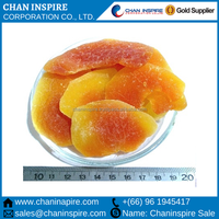 100% natural High quality factory supply papaya in Dried Fruit chips