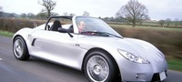 Luxurious electric car High Speed