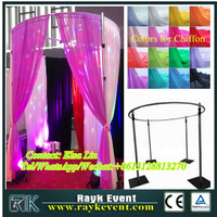 Portable pipe and drape rental folding tent poles