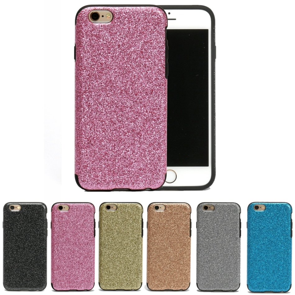 "Bling Sparkle Glitter Crystal Rhinestone Slim Fit Ultra Thin Soft Cover Case for iPhone 6 & 6s 4.7"" Wholesale Los Angeles"