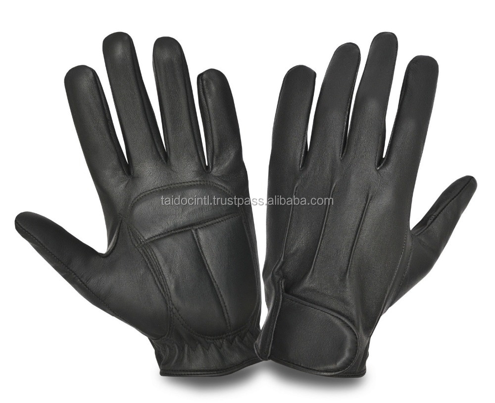 SOFT COMFORTABLE SHEEP NAPPA LEATHER BIKE BIKER'S CAR BUS DRIVING GLOVES/ Best quality by taidoc