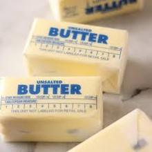 Unsalted Butter 10kg, 25kg, 82% fat, New zealand origin