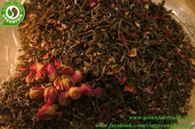 Vietnamese Shan green tea rose infused