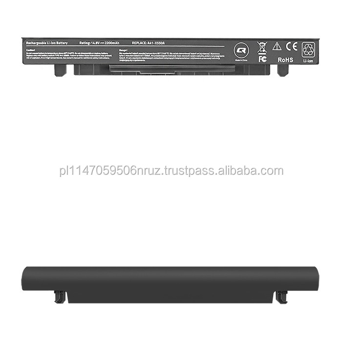 QOLTEC Real CE Laptop Battery For Asus X550