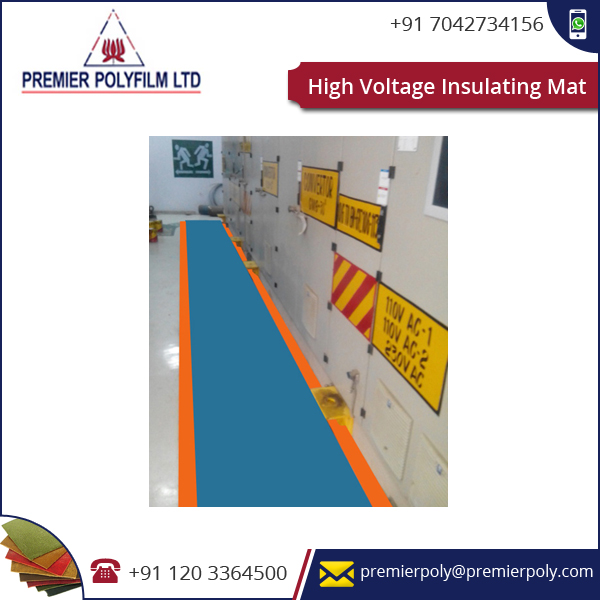 Highly Recommended Easy To Install High Voltage Insulating Mat