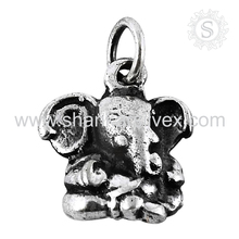 Holy Indian Ganesh 925 Silver Jewelry Wholesale Pretty 925 Sterling Silver Pendant Exporter