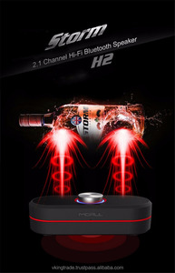 VKING Mini Bluetooth Speaker MORUL H2 Speaker Portable wireless loudspeaker With stereo 3D surround sound system