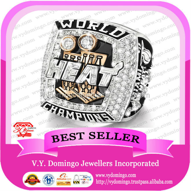 Hot productl 2013 Miami Heat Championship Rings Custom jewelry replica sports basketball championship ring wholesale