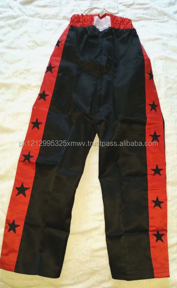 New Champion Model High Quality Satin Material Kickboxing Trouser