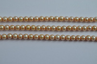 4.5 mm natural freshwater round pearl beads