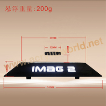 led magnet levitating magnetic floating glasses display stand
