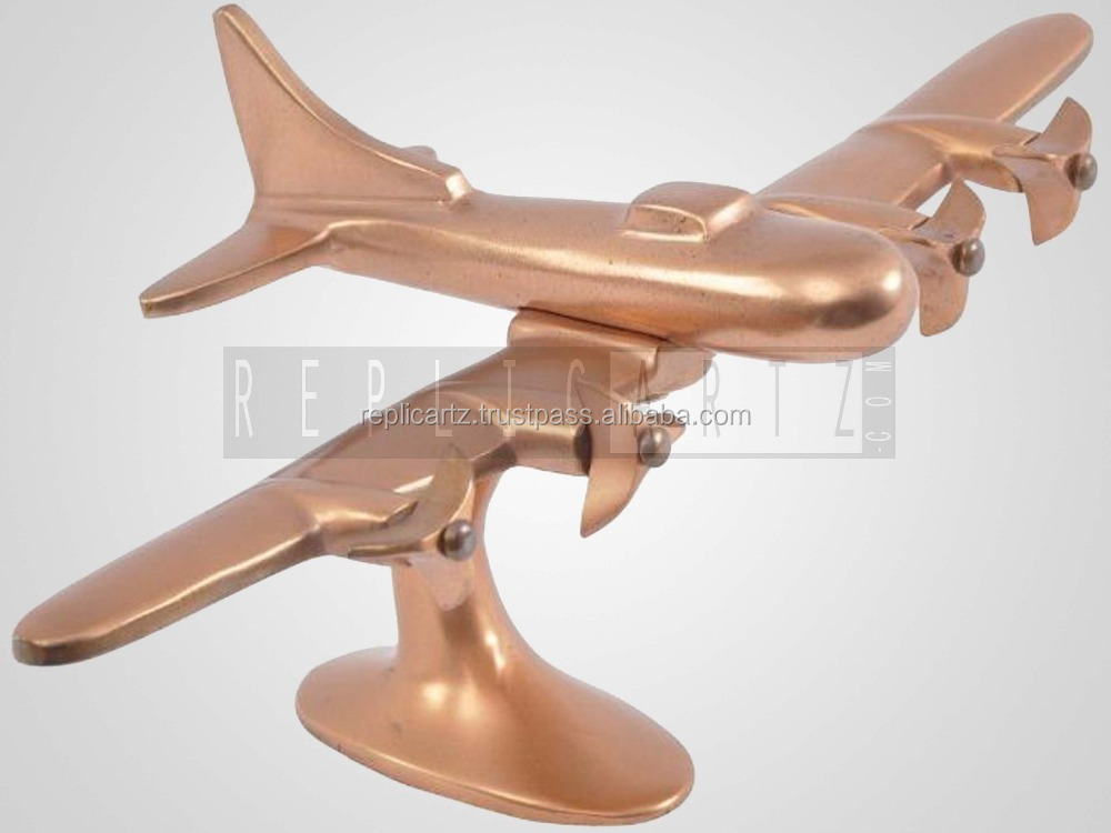 Aluminum Sand Casting Decorative airplane model