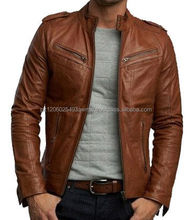 Latest Design Leather Jacket Manufacturers from sialkot pakistan/fashion leather jackets /cheap but quality leather jacket