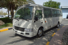 TOYOTA COASTER STANDARD ROOF 4.2L DIESEL 30 SEAT BUS MANUAL TRANSMISSION
