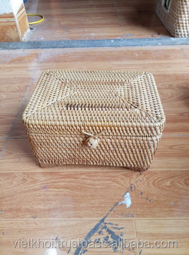 Rectangular Rattan box