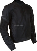 Motosport Cool Men's Slate Air Vent Jacket (Black, Large)