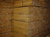 KD Pine hard wood for manufacturing pallets and wooden boxes