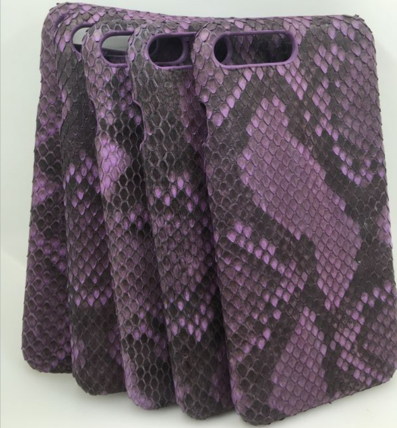 Luxury mobile phone cover and genuine Python case 2016 and mobile phone accessories