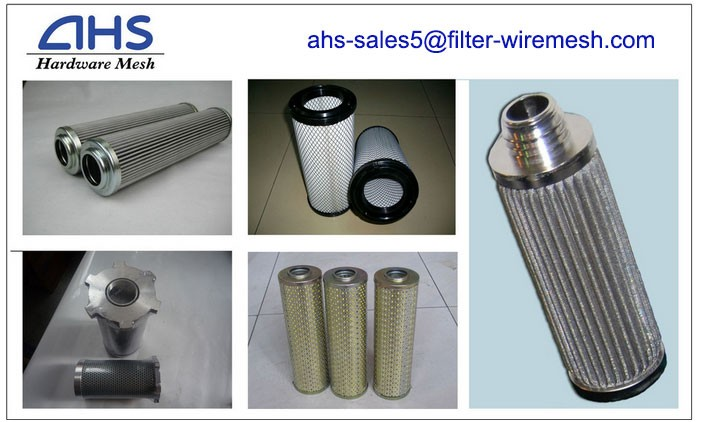 Stainless Steel Melt Filter Element