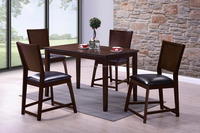 Dining room furniture / Wooden dining table and chair set