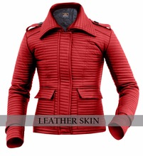 High fashion leather jacket custom made for girls and women