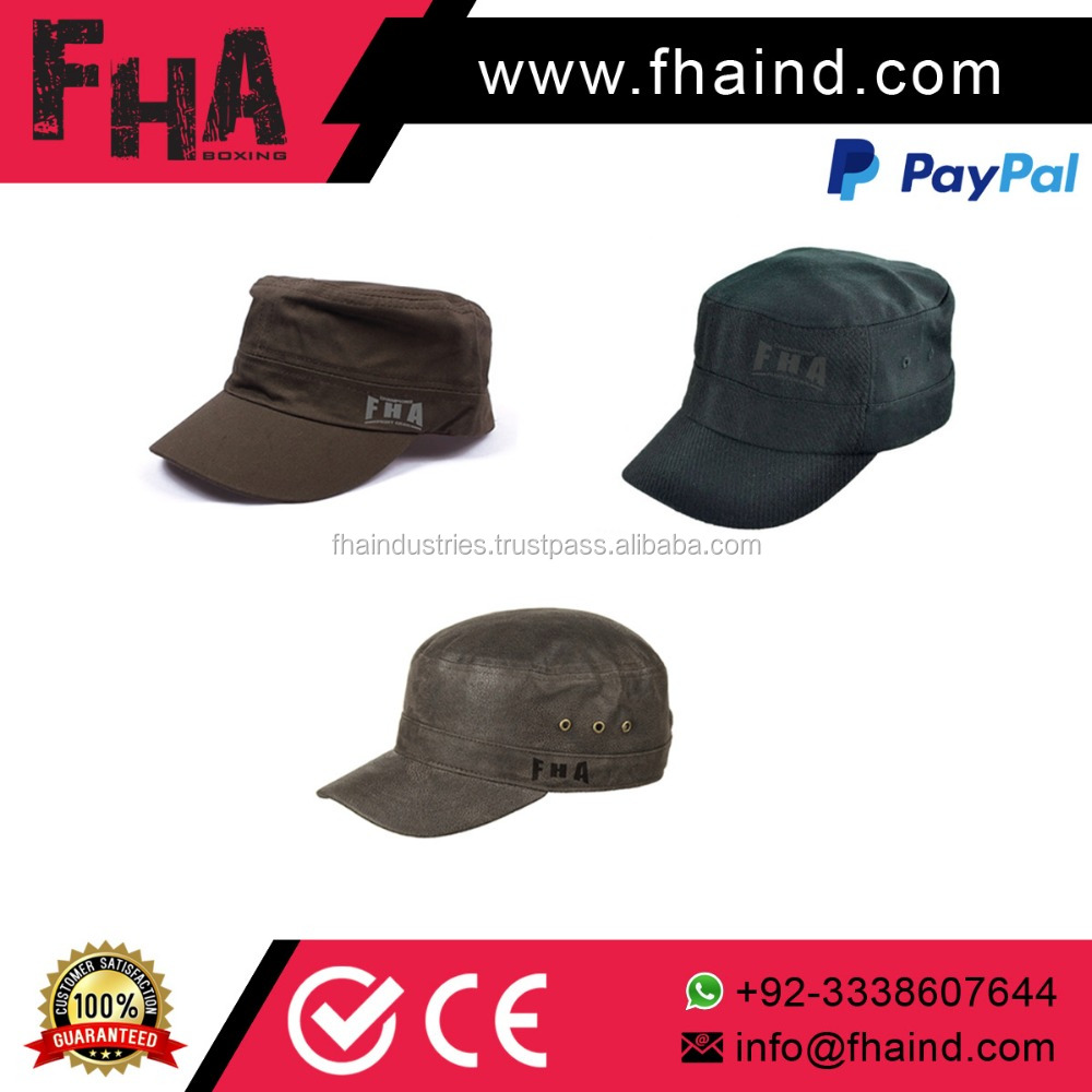 Army military cap/polyester military summer hat / Military army baseball cap with embroidered patch
