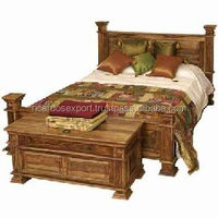 Indian Design Massage Bed Royal Maharaja Bed Wood Furniture