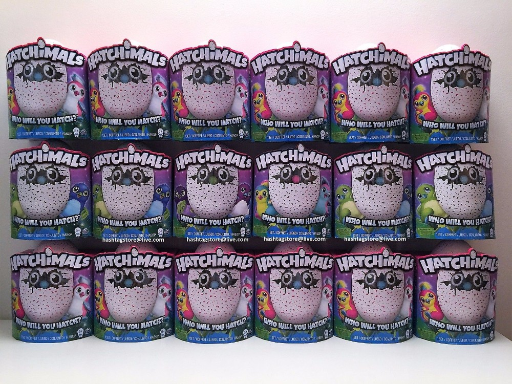 HATCHIMALS EGG SPIN MASTER INTERACTIVE DRAGGLES PENGUALAS BURTLE OWLICORN BEARAKEET Now Available In Stock and Ready To Ship Wor