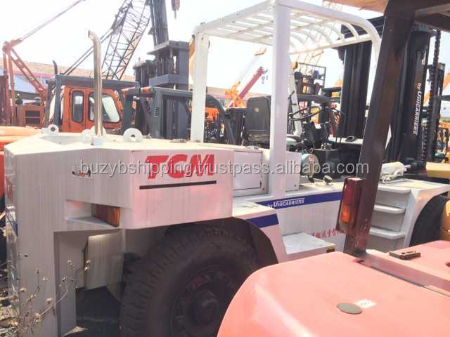 Half new/used TCM manual forklift 15ton FD150, Diesel engine, good condition 15 ton forklift!